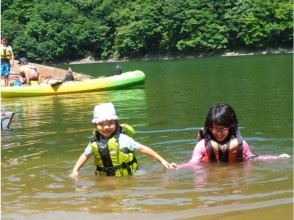 [Gunma/ On the water] I can ride from 3 years old! A leisurely canoe tour on the lake half-day) Free photos during the tour!