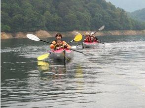 【群馬/水上】のんびり湖上のお散歩カヌーツアー(半日)の画像