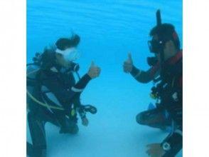 [埼玉縣出發跳水]潛水經驗(2海灘潛水)