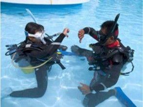 【埼玉発 ダイビング】体験プールダイビング