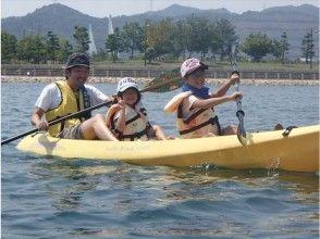 【Minami Tokushima】 kayak & Bike tour (half-day excursion of Minami Tokushima) <image of kayaking / cycling>
