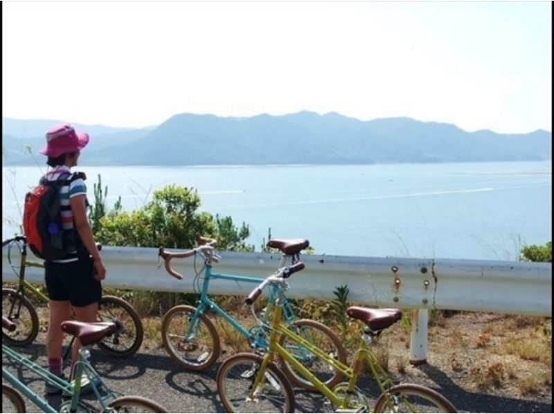 【瀬戸内】kayak&Bikeツアー(瀬戸内海島巡り 一日コース)<カヤック・サイクリング>の紹介画像