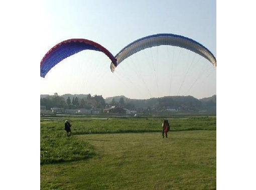 [Fukushima Inawashiro] for beginners! The sky floating experience! Paragliding experience (half-day course)の紹介画像