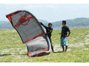 【Cape Chiba Futtsu】 Upgrade your skills and have fun! Kiteboard beginner course 【3 hours × 3 times】 picture