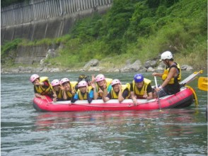 [Kumamoto Kuma River] Family for beginners! Rafting experience (short course)