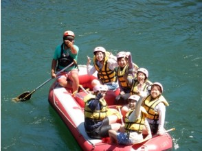 [Kumamoto Kuma River] happily solve the lack of exercise! Rafting (half course)