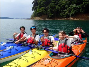 [Yamaguchi Nagato, half-day Recommended for beginners! laid back Sea kayak course!