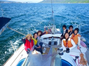 [Hiroshima ・ Seto Inland Sea】 Reserved Charter One day reserved course 【Available to 9 people! ]