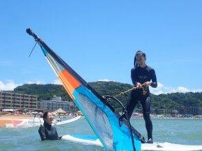【湘南・逗子】ウインドサーフィンに最適の逗子海岸でまずは半日体験してみませんか(初めての方限定)