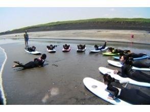 【千葉・初心者向け!】体験サーフィンスクール (レンタル・送迎付き)の画像
