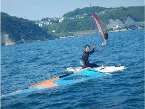 【湘南・逗子】ウインドサーフィンに最適の逗子海岸で1日体験しませんか!?(初めての方限定)