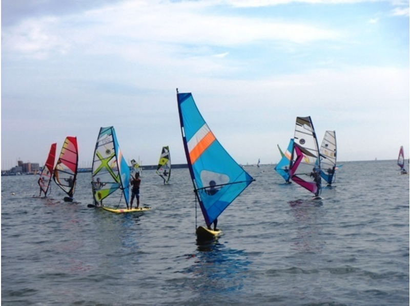 【Shonan / Zushi】 Do not you experience a day at the Zushi coast best for wind surfing! Is it? Introduction image of (first time limited)