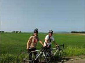 【北海道・札幌】石狩平野お手軽サイクリング&温泉グルメツアーの画像