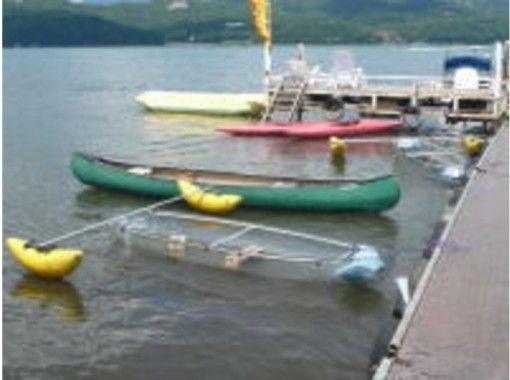【山梨・山中湖】ゆったりとした湖上の時間を楽しむ!カナディアンカヌー・カヤックツアー(2~3人乗り)