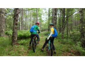[Nagano Prefecture] (Completely reserved use plan for 2 people) Enjoy the mountains! MTB Guided Tour Within 3 Hours Plan
