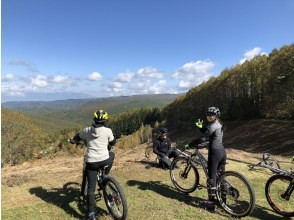 [Nagano] Fully chartered tour for 3 people or more! 3 hours course Mountain bike guided tour