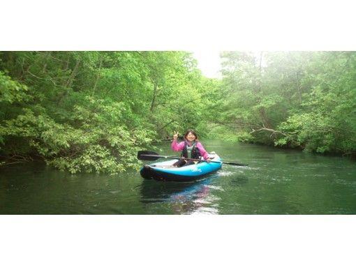 [Hokkaido ・ Kushiro River Gensyu] Let's be healed by visiting the Kushiro River Gensou by canoe or boat [standard course]の紹介画像