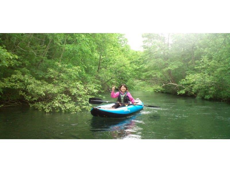 [Hokkaido ・ Kushiro River Source] Canoe and boat around the Kushiro River source and be healed [Standard Course]の紹介画像