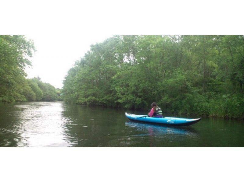[Hokkaido Kushiro River Source] Go down the source of the Kushiro River by boat or canoe. [Long course]の紹介画像