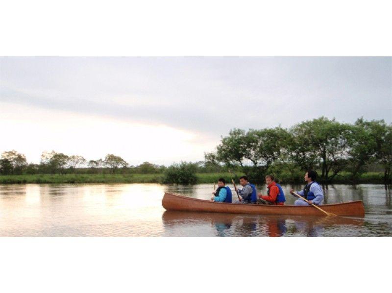 【北海道・釧路川湿原】水門まで湿原に吹く風を感じながらカヌーやボートでのんびり下ろう【標準コース】の紹介画像