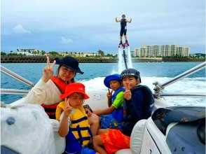 No mistakes on Instagram‼ Wet suit Rental hand OK 10 minutes from Naha Fly board on a dedicated boat