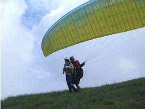 【徳島・西部(吉野川・祖谷渓)】500mからスタート!どきどきパラグライダー体験(半日コース)の画像