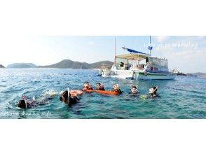 【沖縄 座間味島】GoToトラベル地域共通クーポン利用可能!座間味タイムを十分楽しむボートシュノーケリングコース