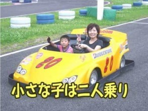 【Nagano · Azumino area】 Popular with children! Visitor fee (first time customer) 2 person ride rental cart image