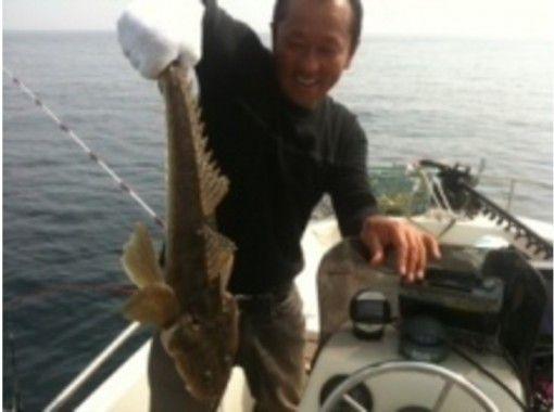 【神奈川県・横浜市】ボートフィッシング~ボートの上で生き物を釣ろう!「チャーターボートコース」の紹介画像