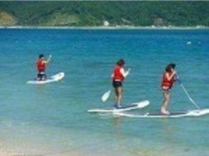 【鹿児島・奄美大島】子供も女性も高齢者も!すぐに楽しめるパドルサーフィン(SUP)の画像