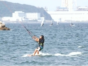 [Kanagawa, Miurakaigan] for beginners! Kite board experience image of the (90-minute course)