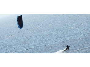 [Kanagawa, Miurakaigan] for beginners! Kite board experience image of 1-day course (4 hours)
