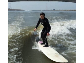 【福岡・筑後川】ウェイクサーフィン体験(初心者向けプラン)の画像