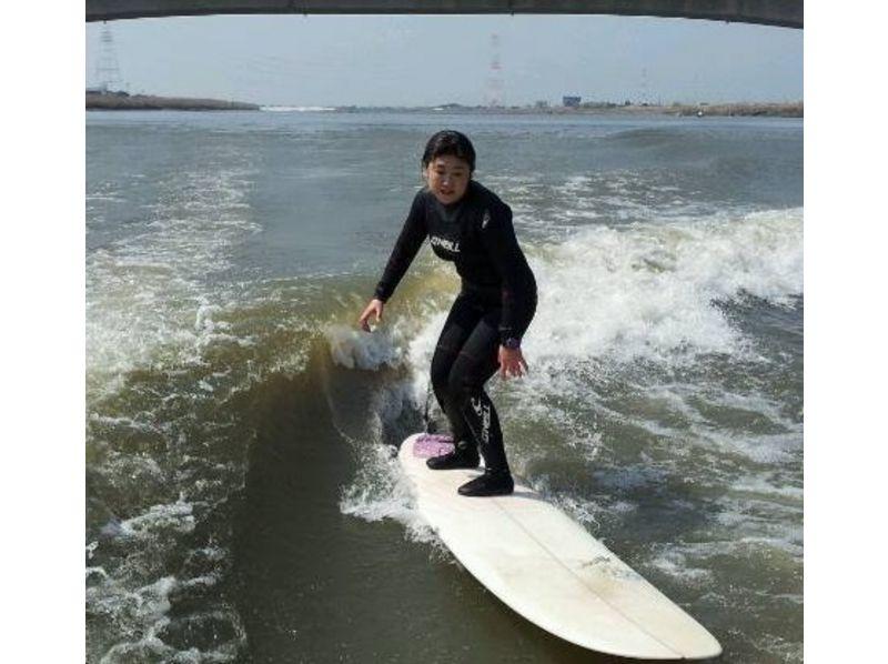 【福岡・筑後川】ウェイクサーフィン体験(初心者向けプラン)の紹介画像