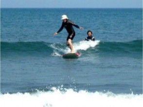 【静岡 牧之原】満足のいくまでゆったりとサーフィン!STEPコース(2時間×3回)の画像