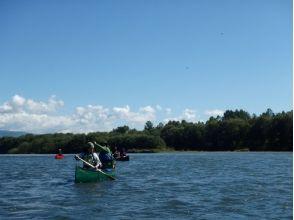 【 Hokkaido · Nakagawa-gun】 Teshikawa 1day canoe trip 【with lunch】