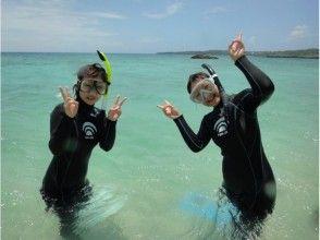 【沖縄・慶良間諸島】プカプカ浮きながら、青く透き通った海を覗こう! 慶良間スノーケリング