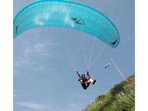 【山形・パラグライダー】タンデムも1人でフライトも楽しみたい方向け☆チャレンジ&タンデムコースの画像