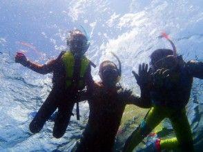 [南方宮崎日南海岸]在海宮崎高度透明浮潛