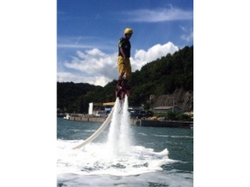 [Setouchi, Okayama ・ Bizen Nisshin] Attention marine sports! Fly board experience courseの紹介画像