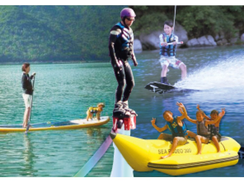 [Setouchi Okayama-Bizen Nissei] Super deals! Full day marine sports experience &BBQ Plan with lunchの紹介画像