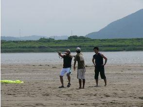 【愛知・木曽川】めざせカイトボーダー!カイトボード体験Aコース(120分)の画像
