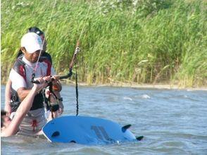 【愛知・木曽川】一番人気!カイトボード体験Bコース(150分)の画像