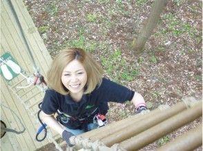 【埼玉・秩父】森を遊びつくす!フォレストアドベンチャー(アドベンチャーコース)の画像