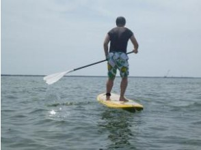[Ishikawa Uchinada coastal] SUP (stand up paddle board) experience school