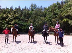 【福岡・福津市】入会前のお得なコース!乗馬教室(4回)の画像