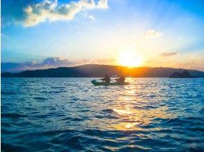 八幡岛日落皮艇