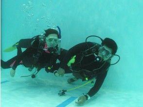 【大阪】初めての方でも安心!自社ダイビング専用プールでの体験ダイビング(2.5時間)の画像