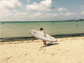 [Okinawa Senagajima coast] access from Naha Airport excellent! SUP experience (stand-up paddle board)
