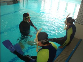 【Osaka】 If you want to enjoy the sea easily! Image of skin diving private course (2 hours)